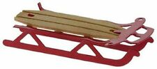 Dollhouse Miniature Red Flyer Sled by International Miniatures