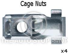 Metal Cage Nuts Citroen Range Saxo/Xantia/Xsara/Xsara Picasso 1399ci 4pk