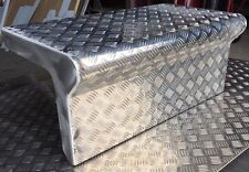 Alloy Checker Plate Tool Box Cover to suit Kenworth Trucks