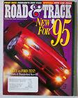 ROAD & TRACK VINTAGE CAR MAGAZINE 1994 OCTOBER DODGE AVENGER