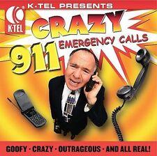Various Artists K-Tel Presents: Crazy 911 Calls CD