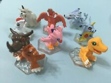 Bandai Digimon Digivolves toys capsule action figures full set 8 pieces RARE