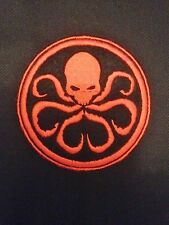 Marvel Agents of SHIELD, Sectre Hydra Embroidered Patch, Badge Iron on or Sew.