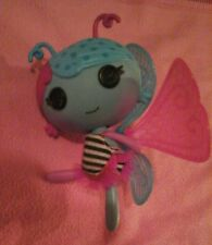 Lalaloopsy Littles Lala-Oopsies Doll Fairy Lilac  Wings  Blue Pink &Sleeping Bag