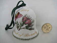UNUSUAL PORTMEIRION BOTANIC GARDEN 2001 YEAR SYMBOL OF BEAUTY TABLE HAND BELL
