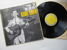"The One And Only  12"" Lp Hank Snow RCA Camden CDN -5102 Mono UK Dated 1962"