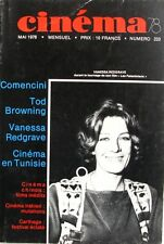 Cinéma 78 n°233- 1978- COMENCINI-TOD BROWNING-VANESSA REDGRAVE-