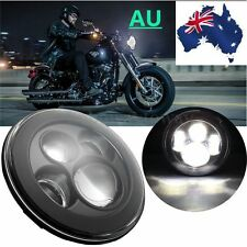 7''Daymaker Projector Motorcycle Halo Ring Hi-Lo LED Headlight FOR Harley OSRAM