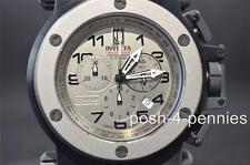 INVICTA 51MM COALITION FORCES JASON TAYLOR SILVER LE BLACK BRACELET WATCH 14515