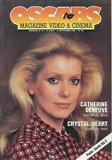 OSCARS 10 (15/8/86) CATHERINE DENEUVE DOC SAVAGE ALAIN DELON PARILLAUD
