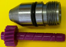 17 tooth TH350 Chevy Muncie Saginaw Speedometer gear purple + bullet housing