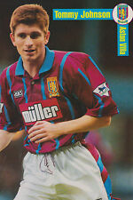 Football Photo TOMMY JOHNSON Aston Villa 1994-95