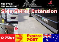 Side Skirt Extension Lip Ford Falcon FG BA BF XR6 XR8 Focus Fiesta G6E FPV GT XR