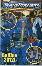 TRANSFORMERS COLLECTORS CLUB MAGAZINE #45 June July 2012; Botcon 2012