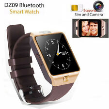 DZ09 Smart Watch Bluetooth phone SIM Card for Android iPhone Huawei Rose Gold
