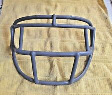 Vintage Single Wire Football Helmet Facemask, Red Dot - EGOP - GRAY