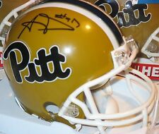 Riddell AARON DONALD Autograph PITTSBURGH PANTHERS Mini FOOTBALL HELMET New PITT