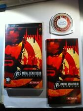 METAL GEAR SOLID PORTABLE OPS SONY PSP prima release