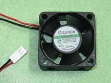 SUNON Maglev KDE0504PKV3 40mm x 40mm x 20mm Cooler Cooling Fan 5V 0.4W 2Pin B86