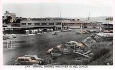Photo. ca 1951. Nanaimo, BC Canada. Canadian Pacific Steamship Terminal