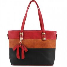 New Ladies Bow Detail Shoulder Bag Women Tote Hand Bag