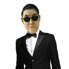 Gangnam Style Psy latex Mask Korean Celebrity Costume Party Cosplay