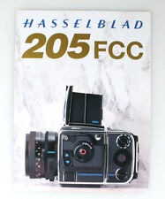 HASSELBLAD 205FCC BROCHURE