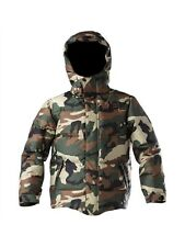 DC Boys Exotex 5K Linear K12 Camo Snowboard Ski Winter Jacket Large