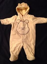 Winnie The Pooh Halloween Costume Infant 3-6 Months Heavy / Warm - Snap Closure