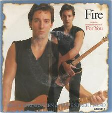 """BRUCE SPRINGSTEEN & THE E STREET BAND FIRE / FOR YOU 7"""" 45 GIRI"""