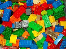 LEGO DUPLO~30~BASIS~BAUSTEINE~SORTIERT~IN~VERSCHIEDENEN~FARBEN~UND~GRÖSSEN!