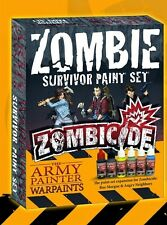 Army Painter BNIB Zombicide Survivor Expansion Paint Set