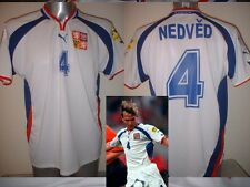 Czech Republic NEDVED Puma Shirt Jersey Football Soccer Adult XL 2000 Juventus A