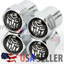 Transformers Logo Valve Stems Caps Covers Autobots Wheel Tyre Tire Car Auto USA