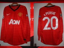 MANCHESTER UNITED VAN PERSIE ADULT MEDIUM FOOTBALL SOCCER SHIRT JERSEY L/S RARE