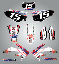 Full  Custom Graphic  Kit -AUSSIE PRIDE - HONDA CRF 450 X