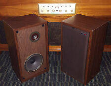 AAL STUDIO SERIES STEREO SPEAKERS VINTAGE 1972 AMERICAN ACOUSTIC LABS