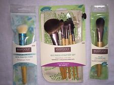 ECOTOOLS 8-PIECE COSMETIC BRUSH SET - New in Packaging