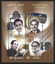India 2003 Golden Voices MS miniature sheet MNH
