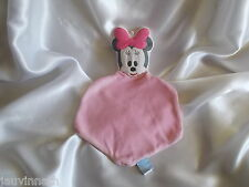 Doudou souris Minnie, rose, Disney Baby