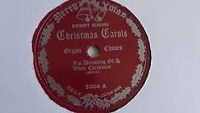 Robert Rheims - 78rpm single 10-inch – Prea Custom #5004  White Christmas