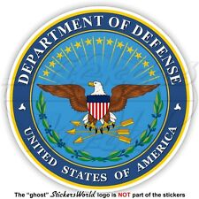 US DEPARTMENT of DEFENSE Seal USA United States America, American Decal, Sticker