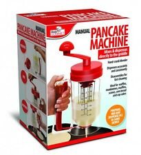 Manual Pancake Batter Dispenser Perfect Cupcakes Waffles Breakfast Mixer Mix
