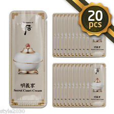 [The history of Whoo] Secret Court Cream 1ml x 20pcs (20ml) Anti-Aging Newest