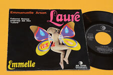 """EMMANUELLE ARSAN 7"""" LAURE ORIG ITALY SOUNDTRACK 1975 EX"""