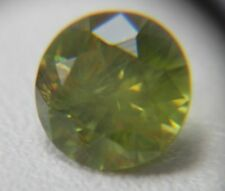 Demantoid Garnet from Russia,1.31ct, Yellow-Green, SI 1 Horsetail inclusions !!