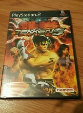 Tekken 5 Factory Sealed PlayStation 2 New Black Label