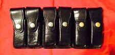 Bianchi Leather Snap-Button Double Stack Magazine Carrier C Grade