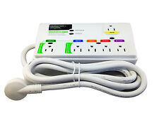 Monster MDP 650 Green Power Digital Surge Protector - 6 Outlets - 2160 Joules