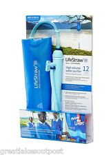 LifeStraw Mission 12L Mass Water Purifier LSM12 Community Water Purification